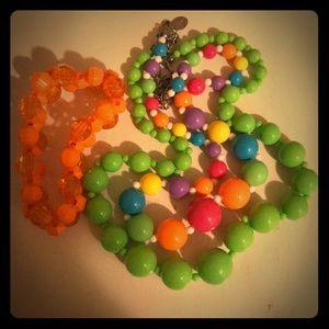 Claire's jewelry bundle